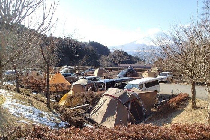 区画サイトのキャンプ場イメージ