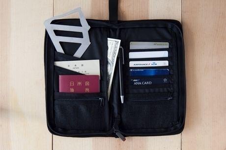 お財布にも収納可能なTetra Drip
