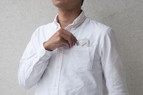 シャツのポケットにも入るTetra Drip
