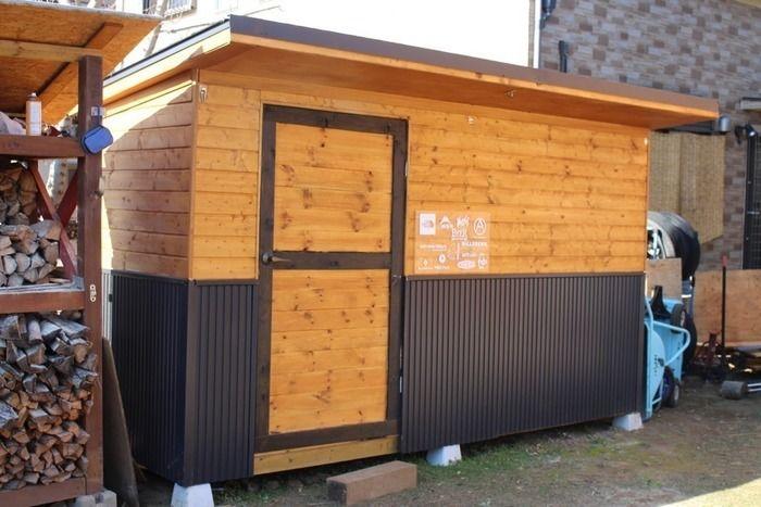 kabawoさん手作りの小屋