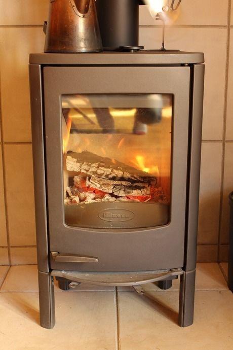 kabawoさんの自宅にある暖炉