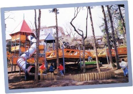 フィールドアスレチック横浜つくし野の幼児向けエリア