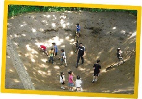 フィールドアスレチック横浜つくし野のファイナルステージ「ありじごく」