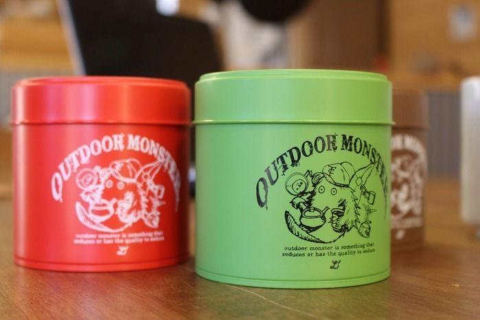 kabawoコラボ商品のアウトドアモンスター