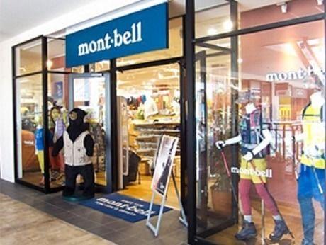 モンベル 三井アウトレットパーク幕張店の店頭