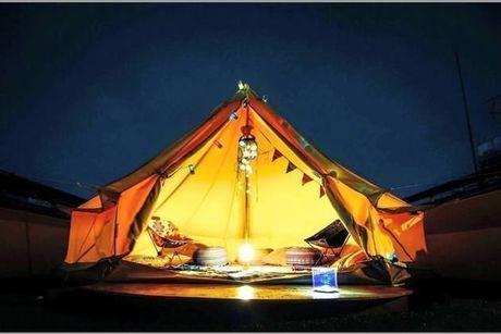 (神奈川県川崎市)ロックヒルズガーデンのグランピングテント
