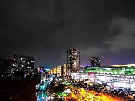 (神奈川県川崎市)ロックヒルズガーデンからの夜景