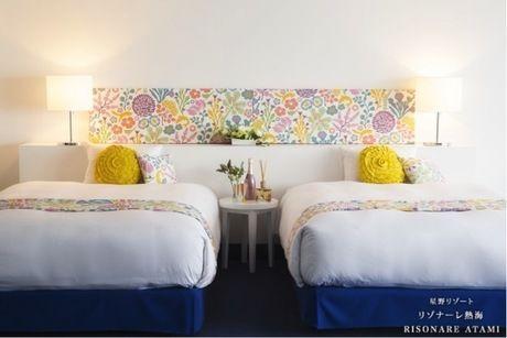 リゾナーレ熱海のベッドルームの内装