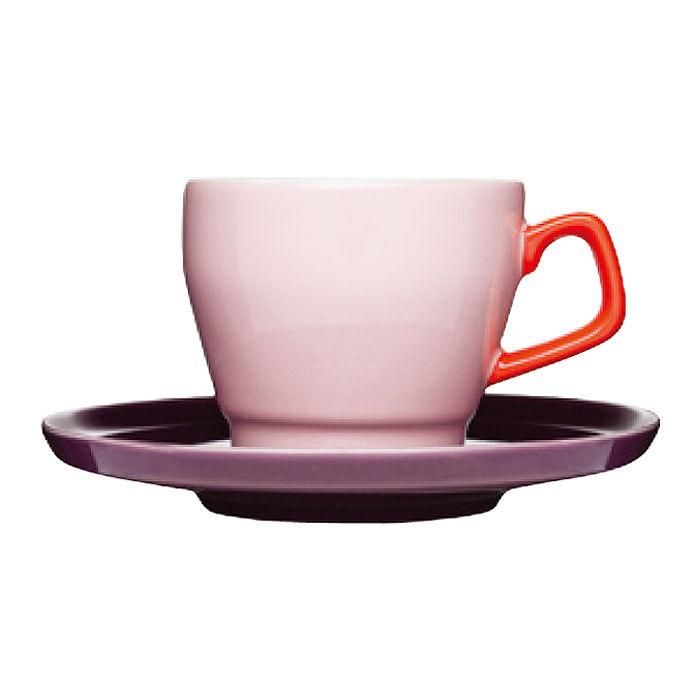 カラフルな色合いの北欧デザインのコーヒーカップ