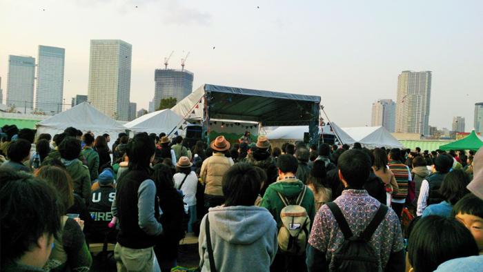 TOKYO OUTDOOR WEEKENDの様子