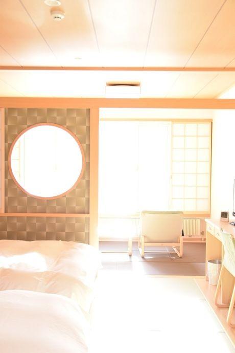 休暇村日光湯元の和洋室