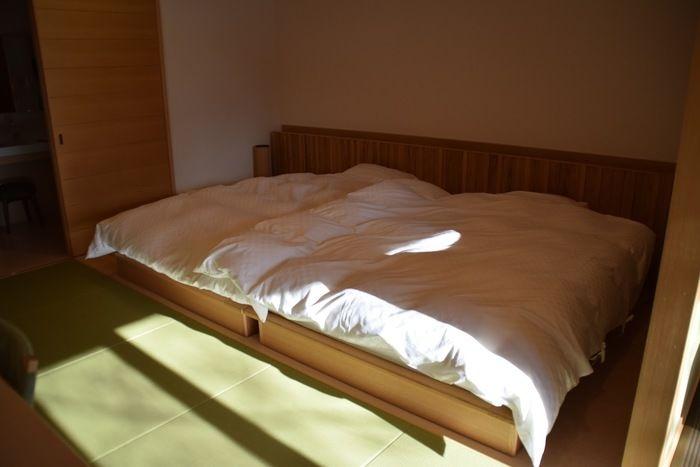 休暇村日光湯元のベッド