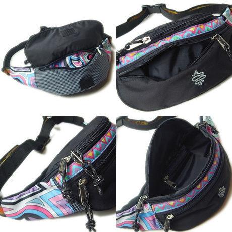 アールディーズのエプロンウエストバッグの収納ポケット