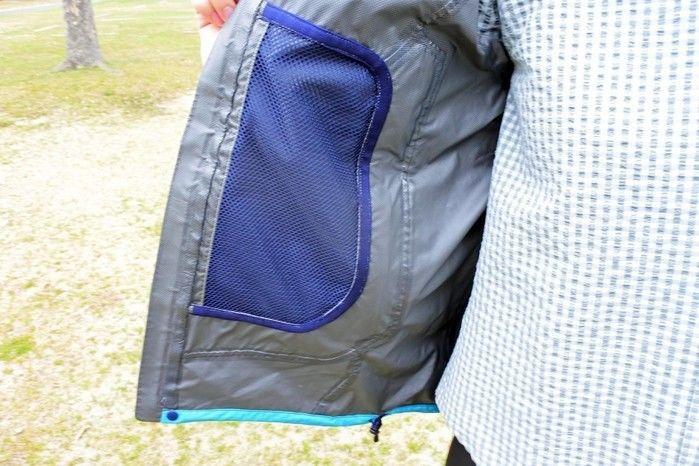 karrimorのジャケットの内ポケット