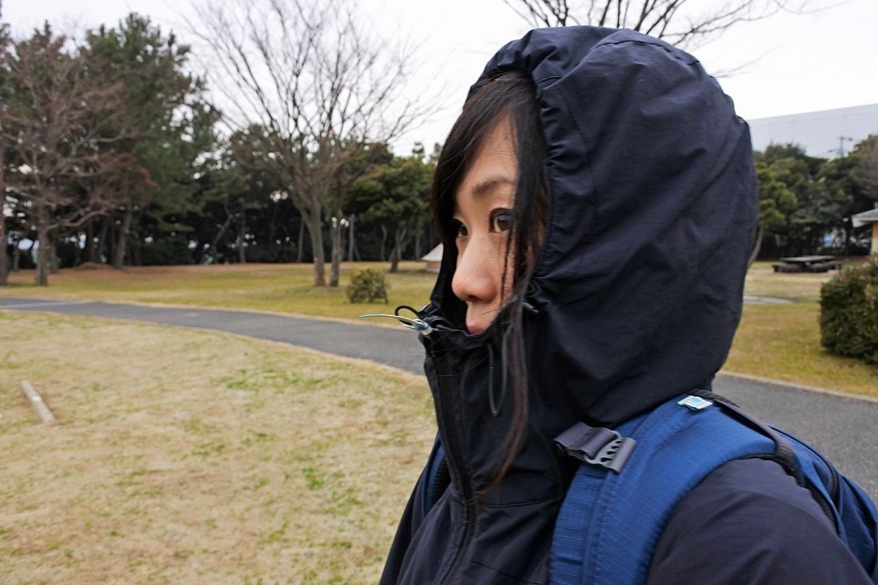 karrimorのジャケットのフード