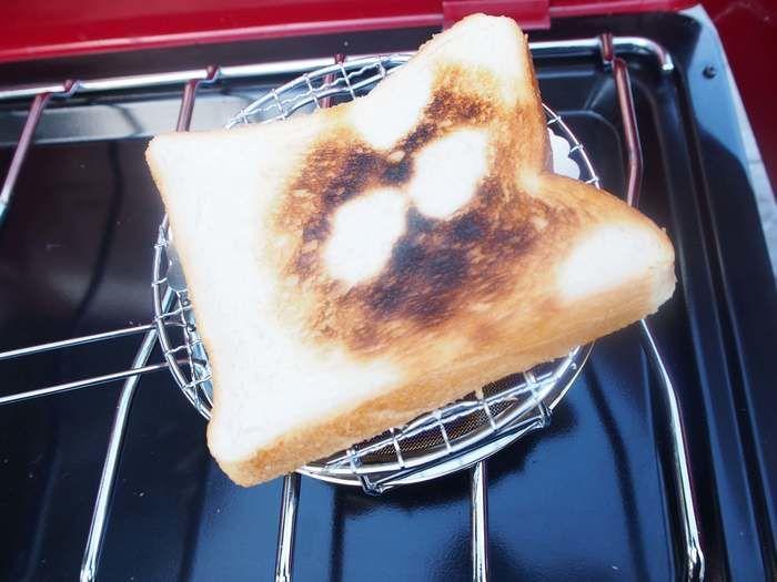 あおぞらロースターでトーストされたパン