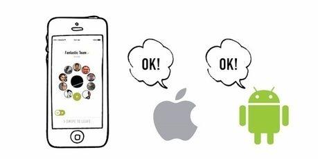 ウェアラブルトランシーバーBONXのアプリ