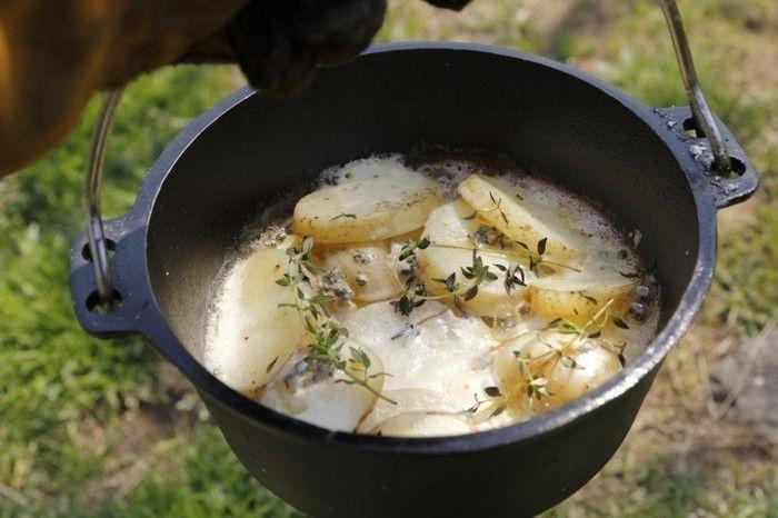 ル・クルーゼで作るチーズグラタン