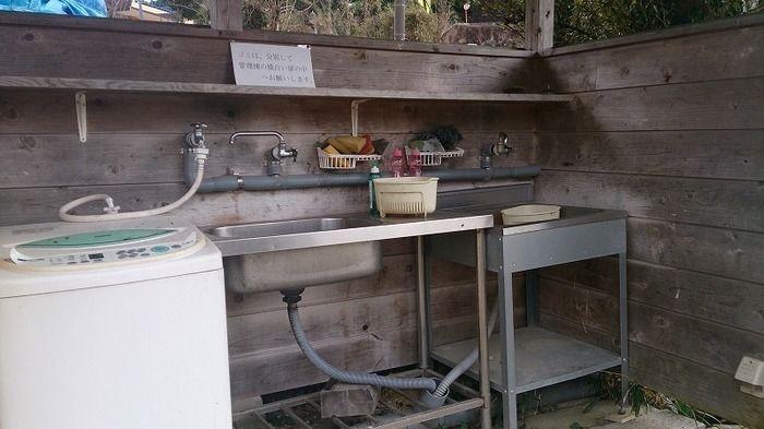 炊事場の様子