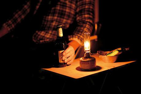 光量の少ないテーブルランタン