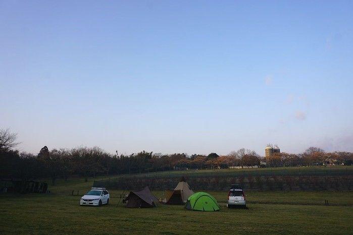 森のまきばオートキャンプ場のキャンプサイト