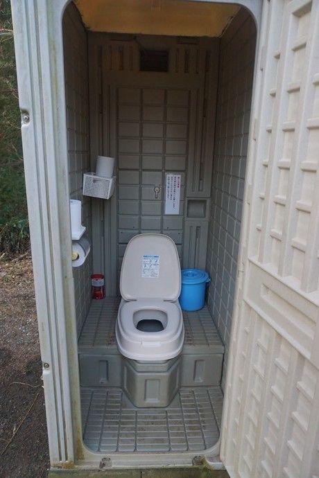 森のまきばきオートキャンプ場のトイレ