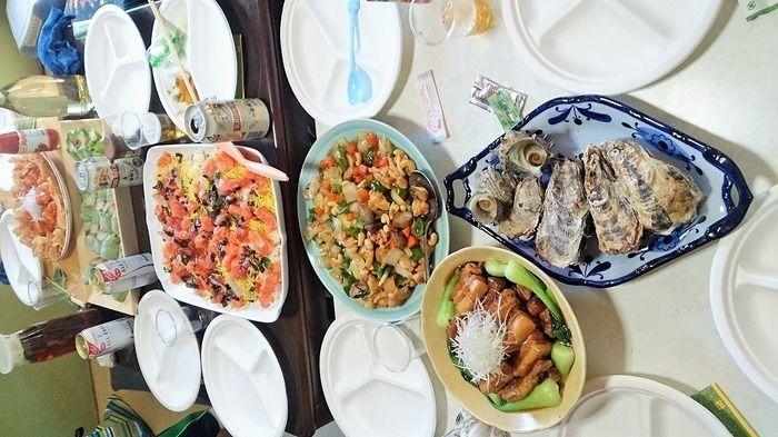 「炉ばた大将」で作った料理たち