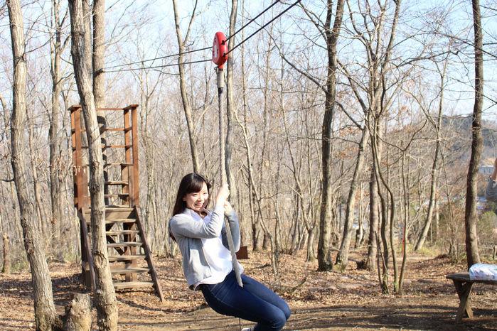 【森と星空キャンプヴィレッジ】ハローウッズの森2