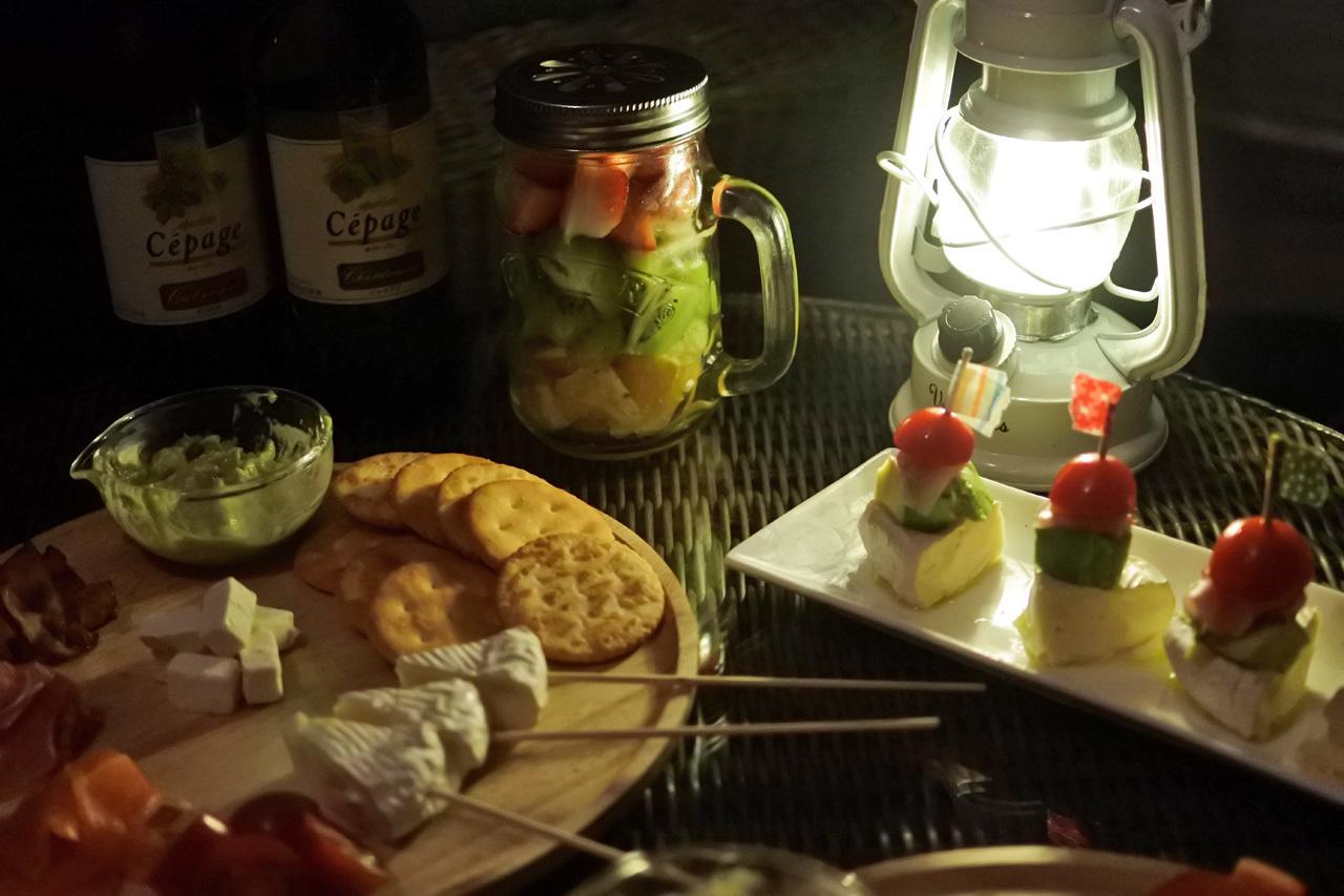 キャンプで食べたい簡単絶品デザート、フルーツポンチ