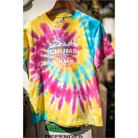 タイダイ染めのオリジナルTシャツ