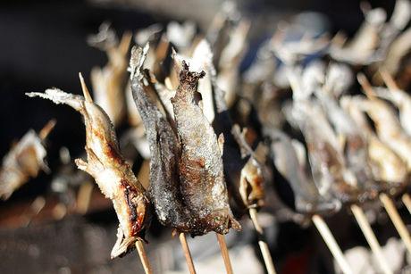 焼かれた魚