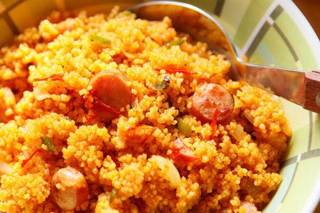 お米を炊くより簡単に作れるカレー風味のクスクスピラフ