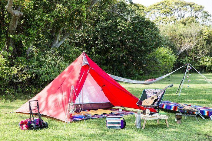 ひとりキャンプ用のキャンプグッズ