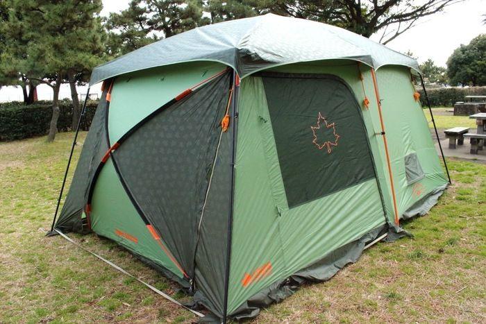ロゴスのneosPANELシリーズのテント