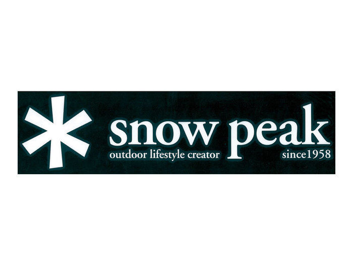 スノーピークのロゴ