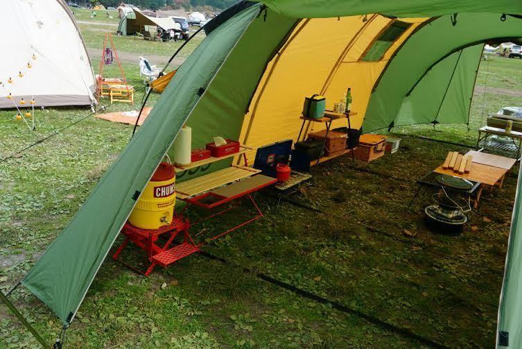 春キャンプは春カラーで楽しもう!グリーンテントを集めてみました