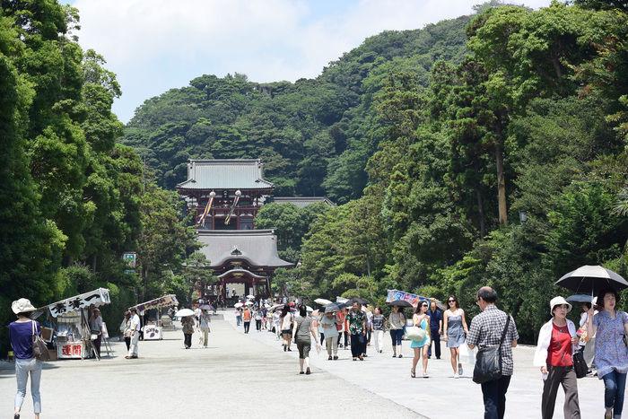鶴岡八幡宮の入り口