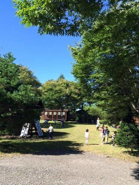 【群馬県】浅間高原くるみの森キャンプ場の広場