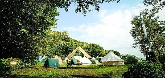 【神奈川県】ezBBQ COUNTRY Cabins & Campingのキャンプ場