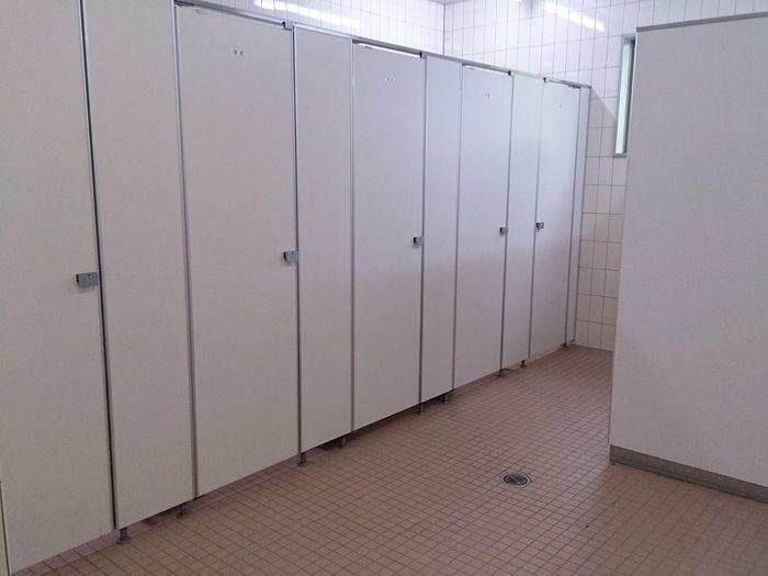 毛呂山町ゆずの里オートキャンプ場のトイレ