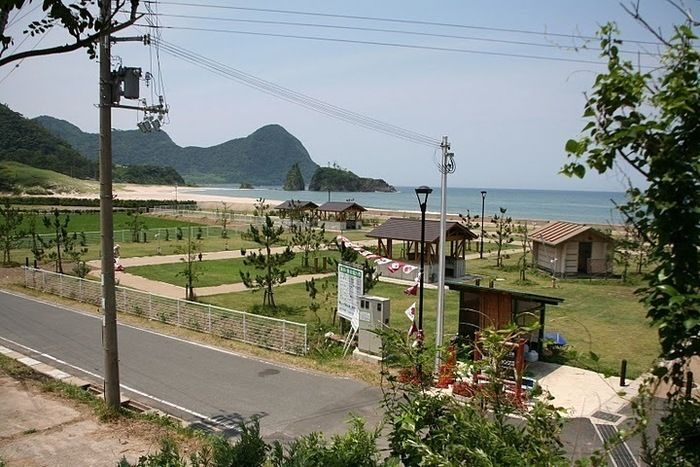 丹後半島・高嶋海水浴場&オートキャンプ場