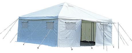小川キャンバルの「災害避難用テントⅡ」