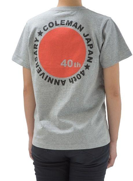 コールマンの40周年限定モデルのグレーTシャツ