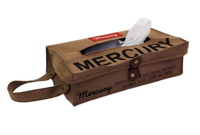 マーキュリーの布のティッシュケース