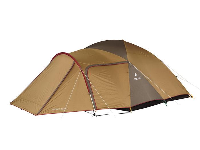 スノーピークのドーム型テント