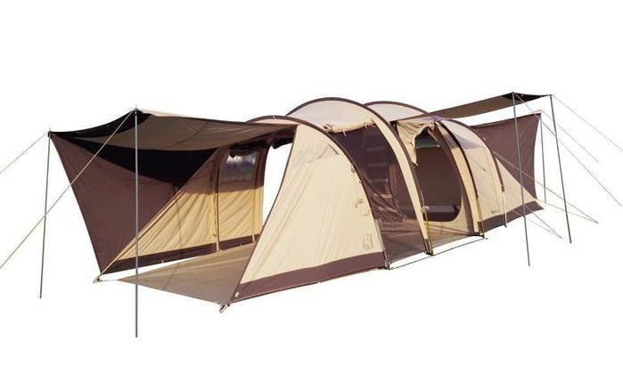 ノルディスクのトンネル型テント