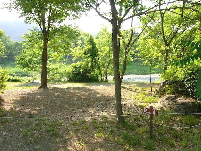 長瀞オートキャンプ場のプレミアムサイト
