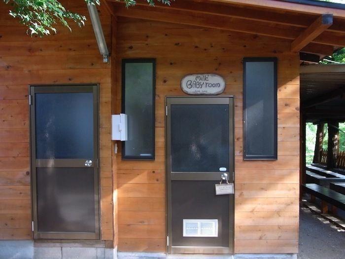 長瀞オートキャンプ場の授乳室の外観