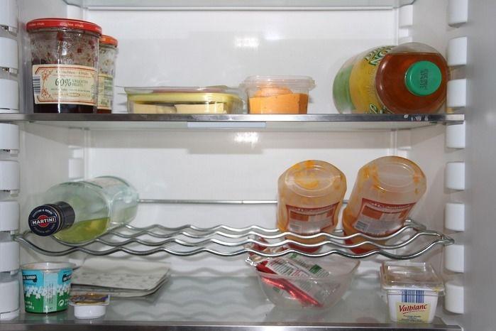 冷蔵庫中の様子