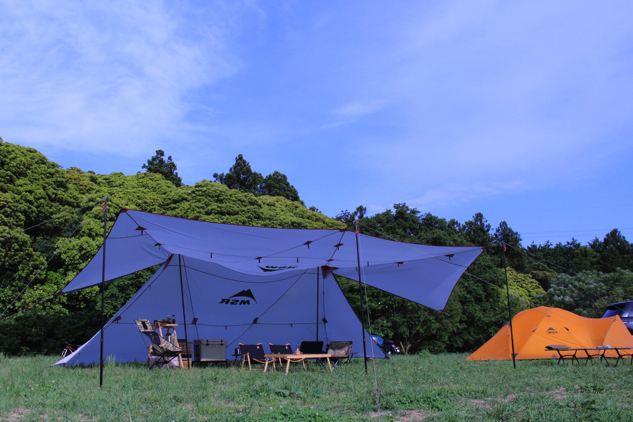 今年テントを買うならコレ!MSRのバビリオンが復活発売☆